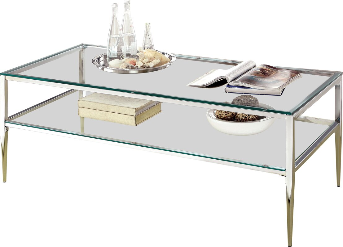 High Quality Genowefa Open Shelf Coffee Table