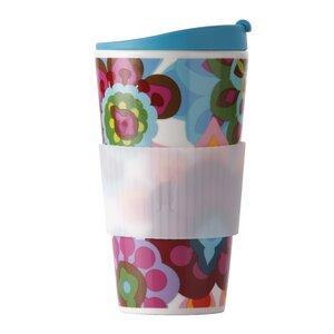 Gala 16 Oz. Porcelain Traveler Mug