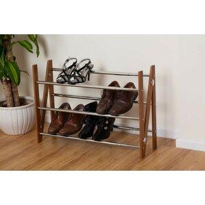 merton expanding 3 tier shoe rack