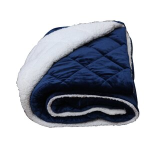 Luxury Cozy Soft Square Quilted Throw Blanket