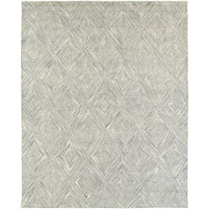 Cecelia Hand-Crafted Gray Area Rug