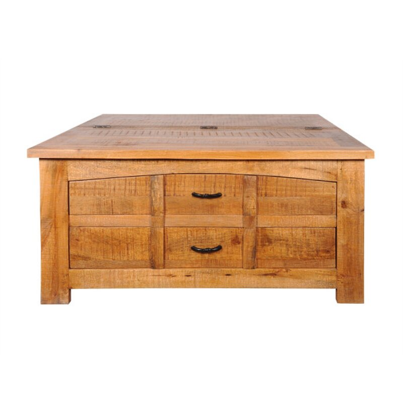 Aden Mango Wood Coffee Table