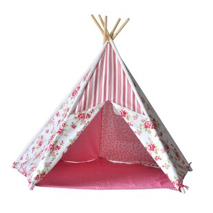 Kid Play Teepee with Carrying Bag  sc 1 st  Wayfair : dog teepee tent - afamca.org