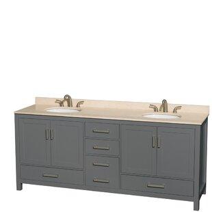 Charmant Dark Gray Bathroom Vanity   Wayfair