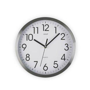 25cm Aluminium Wall Clock. by Hokku Designs