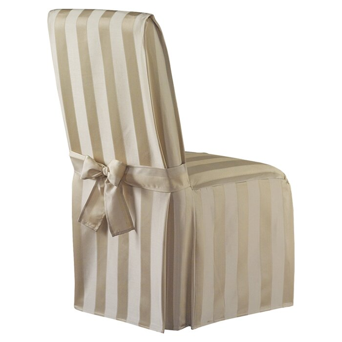 Exceptional Polyester Parson Chair Slipcover