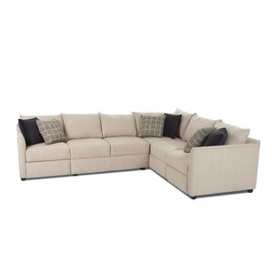Stills L-shaped Power Hybrid Reclining Sectional by Latitude Run