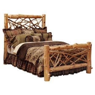 Amish Log Bed Frames King Wayfair