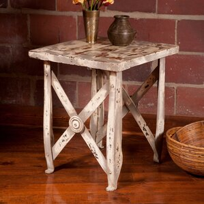 British Raj Bundi End Table by William..