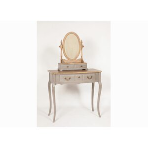 Chateau Oval Dressing Table Mirror