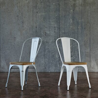 White Kitchen Amp Dining Chairs You Ll Love Wayfair