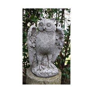 Owl Stone Garden Statue