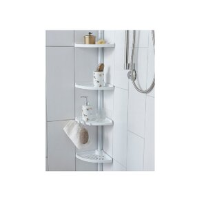 4tier tension pole shower caddy