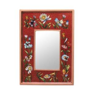 hand painted mirror wayfair