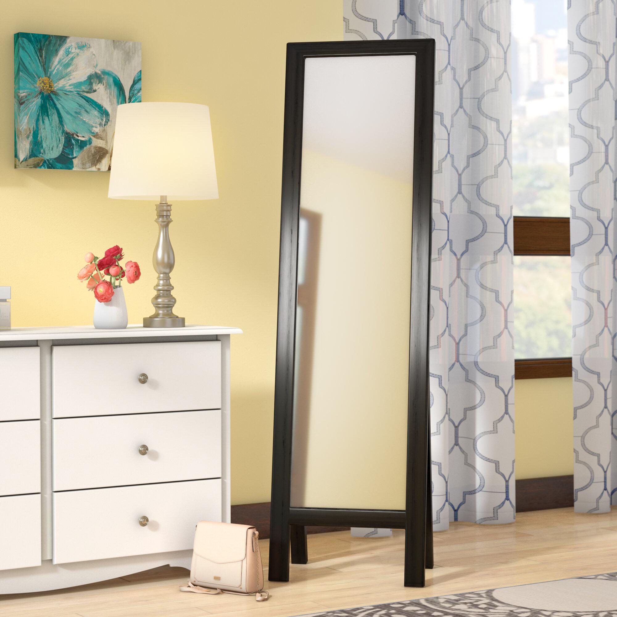 Andover Mills Neumann Easel Floor Cheval Mirror | Wayfair