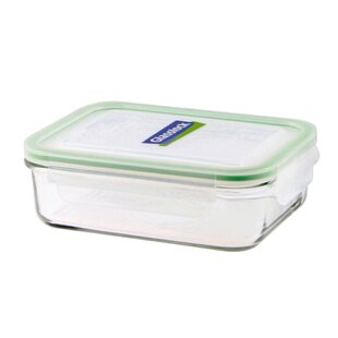 Classic 1L Rectangular Glass Food Container (Set Of 2)