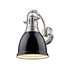Black Shade Wall Sconce | Wayfair