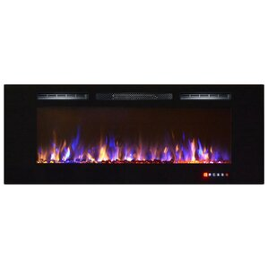 Emeril Wall Mount Electric Fireplace by Orre..