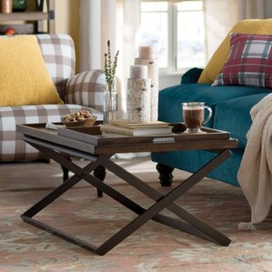 Evansville Coffee Table with T..