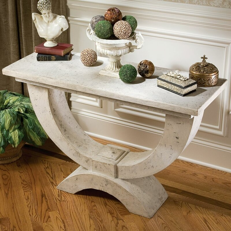 Wonderful The Moderno Arch Of Stone Console Table