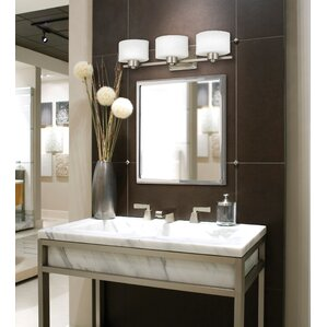 Bathroom Vanity Lights Facing Up Or Down white & cream bathroom vanity lighting you'll love | wayfair
