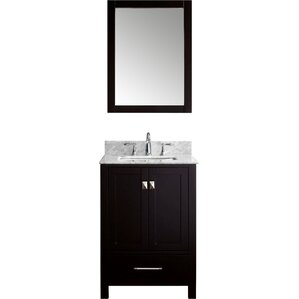 24 Mirrored Bathroom Vanity 24 inch bathroom vanities you'll love | wayfair