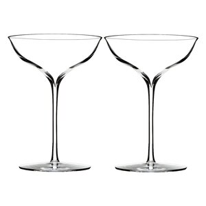 Elegance Belle Coupe 8oz. Champagne Glass (Set of 2)