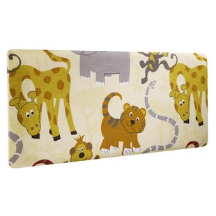 Jungle Party Single Panel Headboard by Churchfield Sofa Bed