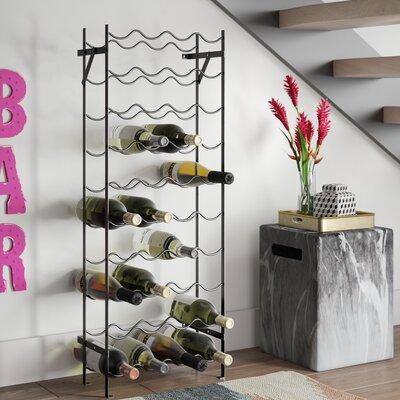 Lyall 40 Bottle Floor Wine Rack Brayden Studio