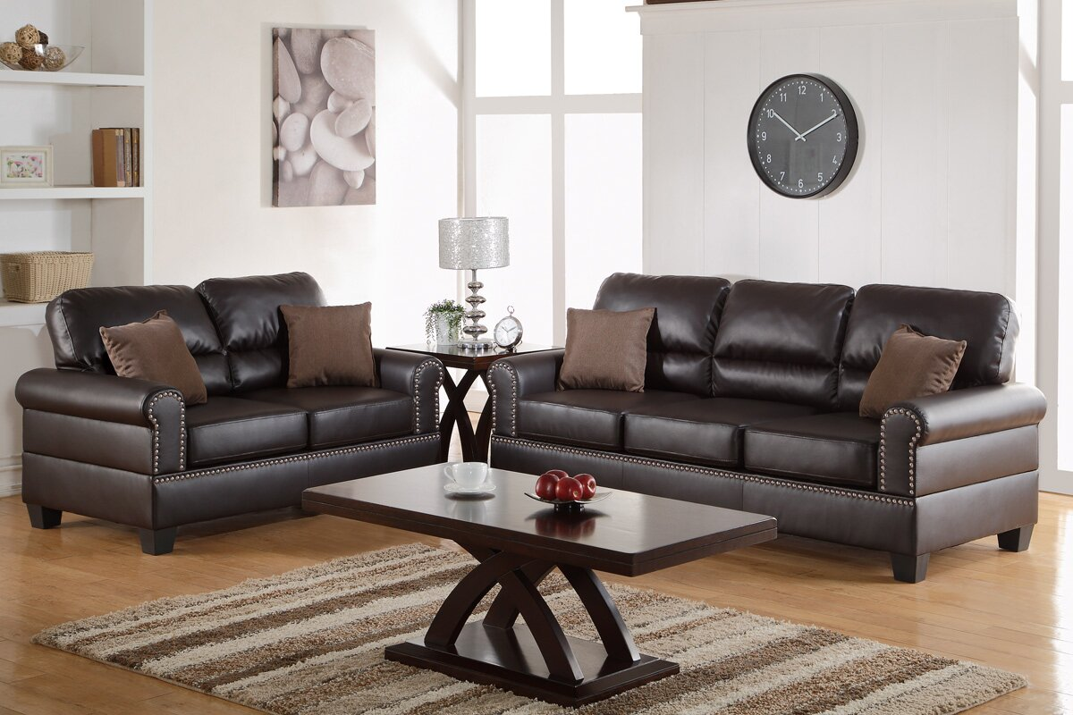 2 piece living room furniture charlton home boyster 2 living room set amp reviews 20985