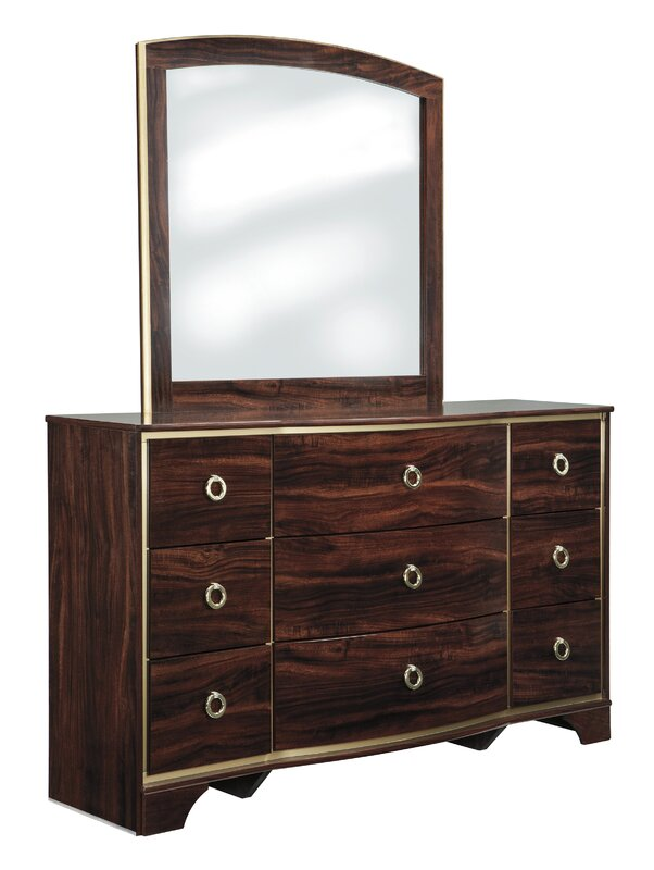 Bevis 9 Drawer Dresser