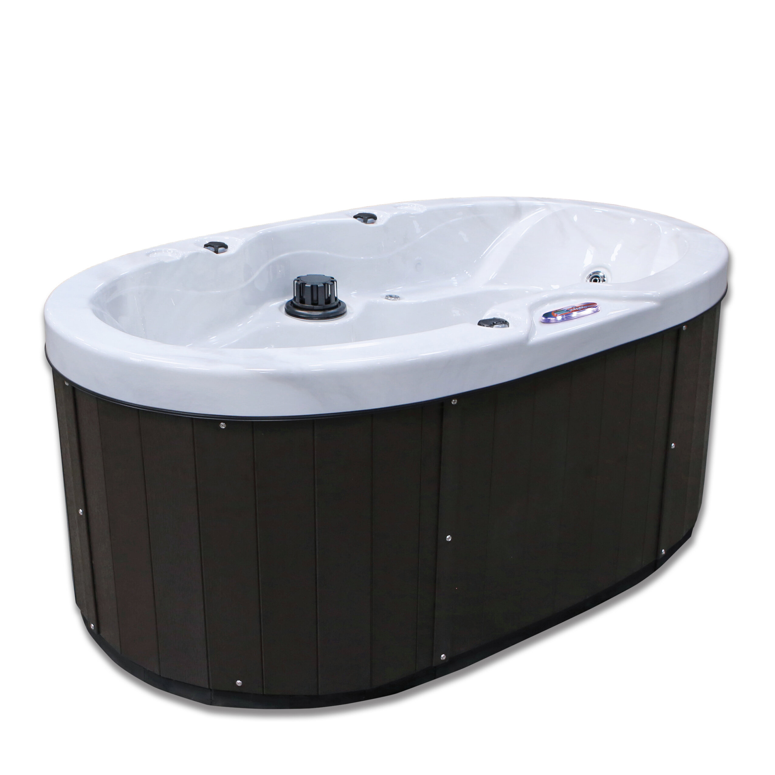 American Spas Valentine 2-Person 18-Jet Plug and Play Spa with ...