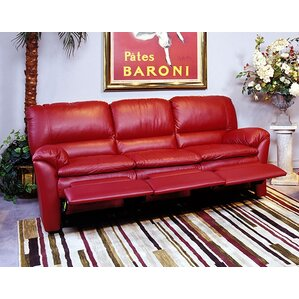 Omnia Leather Luxor Leather Reclining Sofa Image