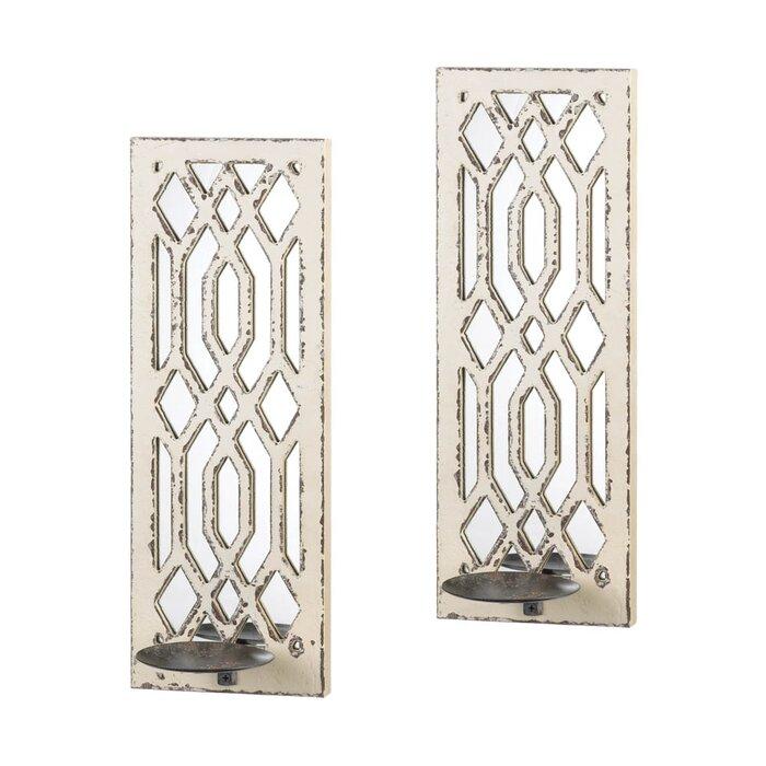Deco Mirror Wall Sconce