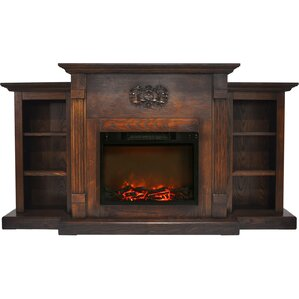 Dimmick Traditional Electric Fireplace by Al..