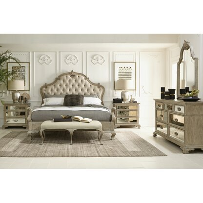 Campania 7 Drawer Dresser With Mirror