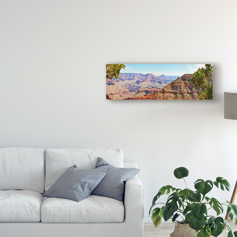 'Grand Canyon Panorama IV' Photographic Print on Wrapped Canvas