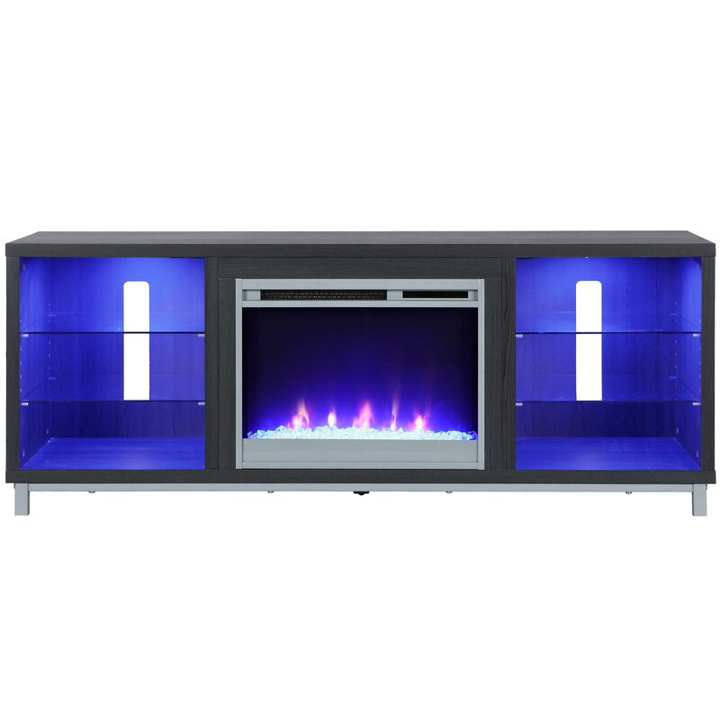 Latitude Run Ilyse Tv Stand For Tvs Up To 70 With Fireplace
