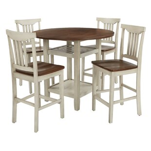 Eastep 5 Piece Counter Height Breakfast Nook Dining Set  sc 1 st  Wayfair : breakfast table set - pezcame.com