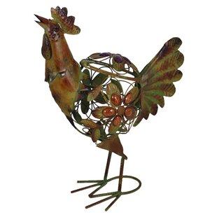 Rustic Rooster Figurine