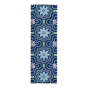 Bette Hand-Tufted Blue Indoor/Outdoor Area Rug