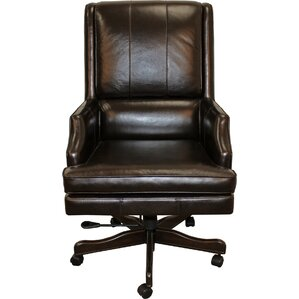 Genuine Leather Office Chairs Youll Love Wayfair