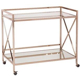 keeley bar cart - Rose Gold Bar Cart