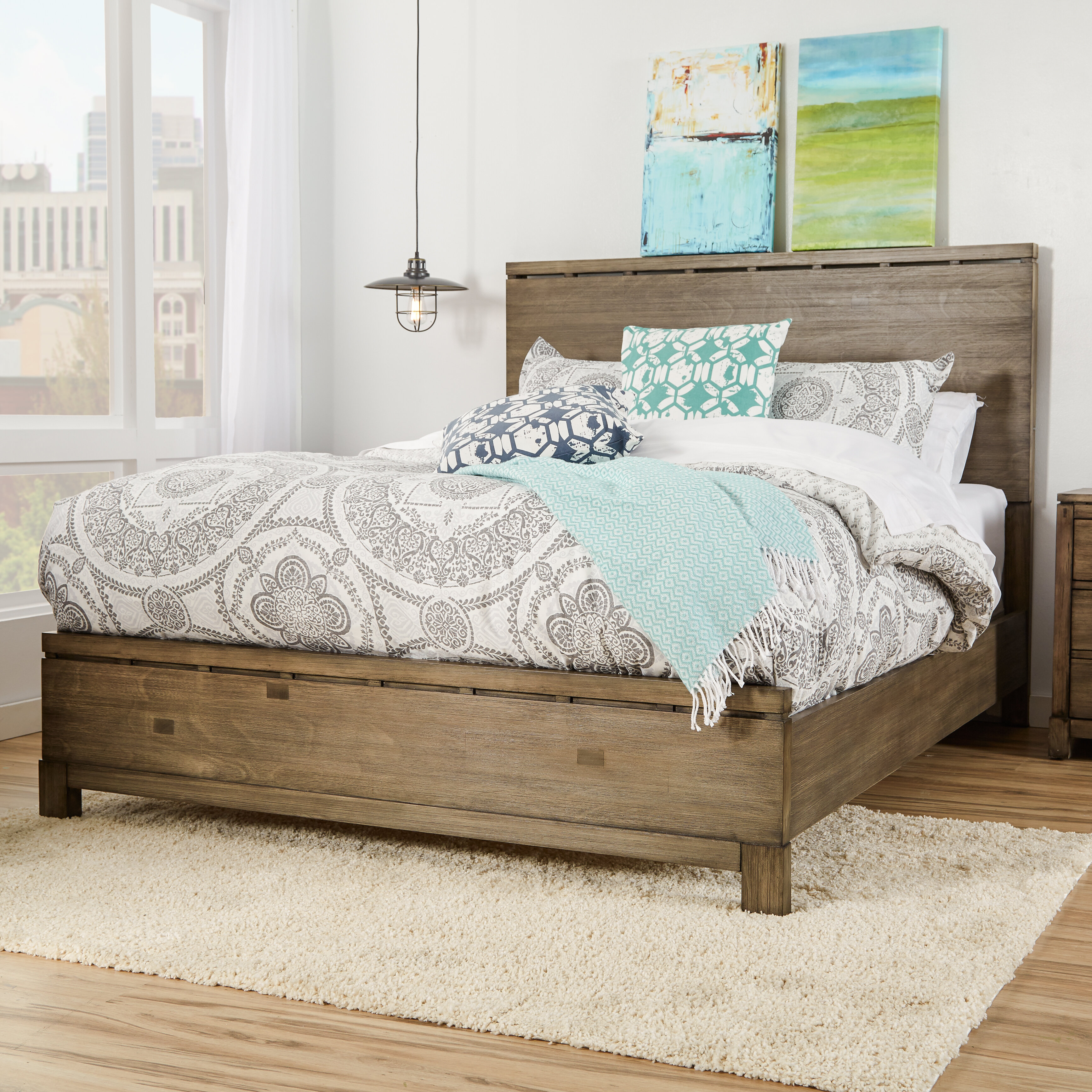 Mercury Row Pax Panel Bed & Reviews | Wayfair