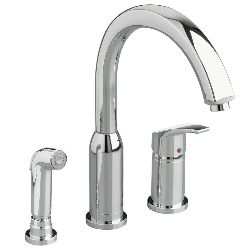 default_name - American Standard Arch Single Handle Widespread Cold / Hot Water