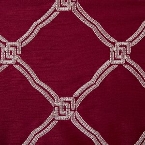 Teramo Geometric Room Darkening Grommet Single Curtain Panel
