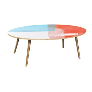 Brass Oval Coffee Tables Youll Love Wayfair - Wayfair oval coffee table