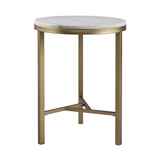 Modern Contemporary Antique Brass Side Table Allmodern