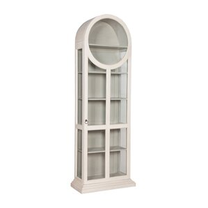 Ilka Round Top Standard Curio Cabinet by ..