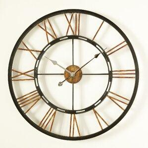 Mirrored Wall Clock wall clocks you'll love | wayfair